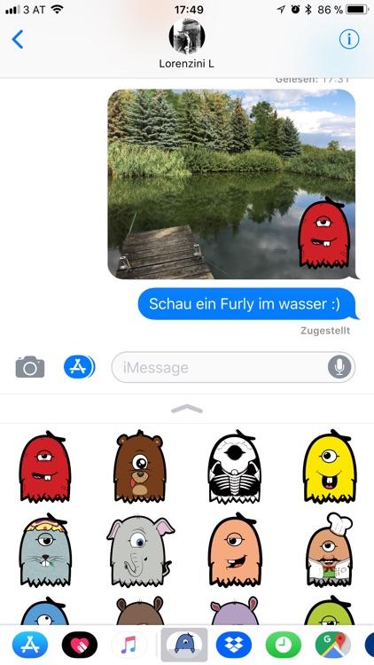Furly Stickerpack screenshot-4