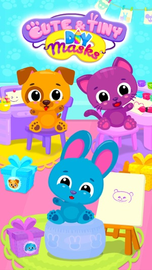 Cute & Tiny DIY Mask Party Screenshot