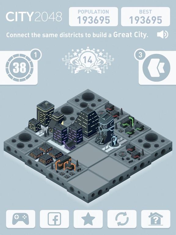 Скачать игру City 2048