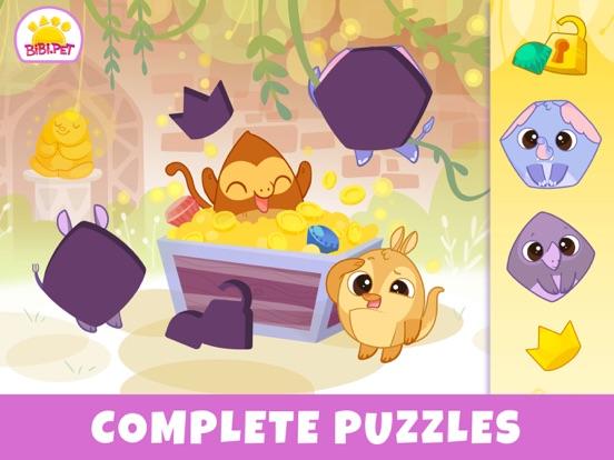 iPad Image of Bibi Jungle: Games for Toddler