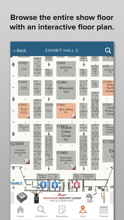 2019 AHR Expo by Map Your Show