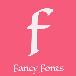 Fancy fonts art keyboard theme