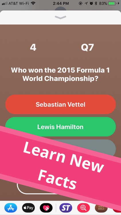 Simple Trivia - iMessage Game screenshot-3