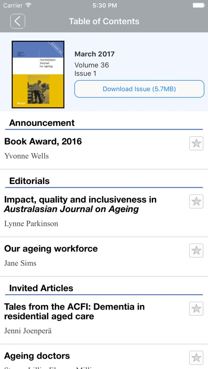 Australasian Journal on Ageing screenshot-4