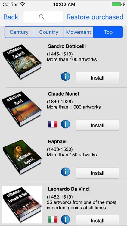 artDatabase - The Art Guide screenshot-3