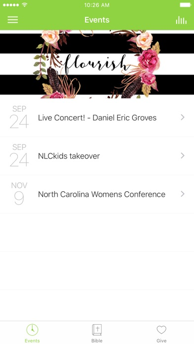 New Life Church NC screenshot 1