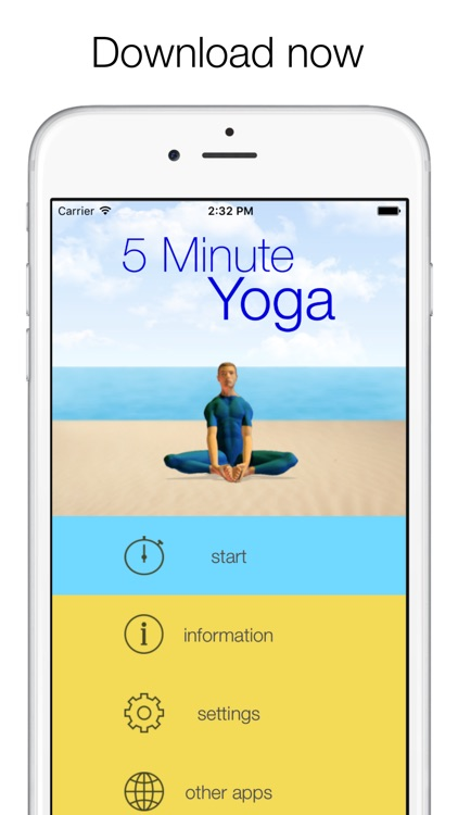 5 Minute Yoga Workouts screenshot-4