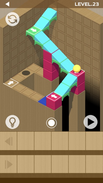 Woodish Brick & Ball Puzzles screenshot 2