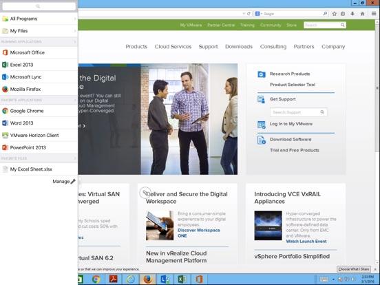 VMware Horizon Client - AppRecs