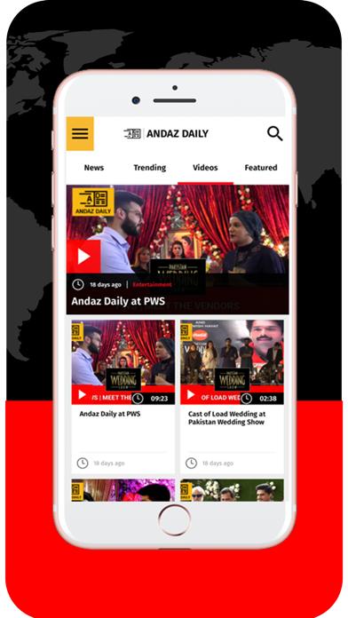 Andaz Daily screenshot three