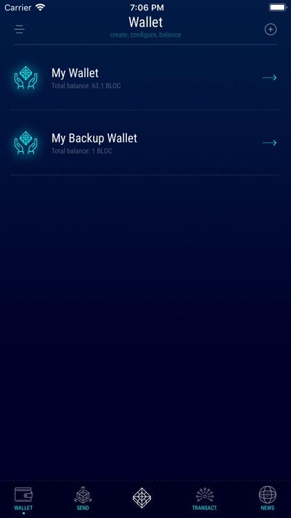BLOC Wallet by FuriousTeam LTD