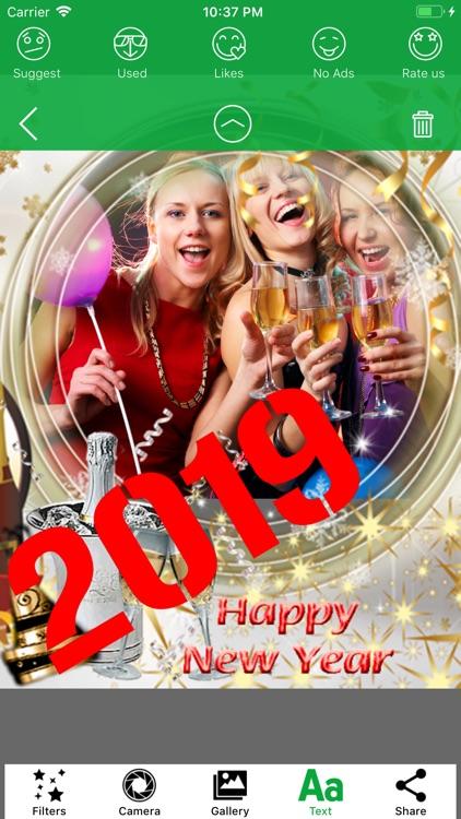 2019 Happy New Year Frames HD