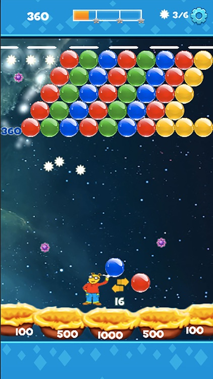 Bubble Shooter Super Pop Puzzle Blast screenshot-4
