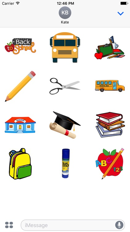 Back to School Stickers 2017