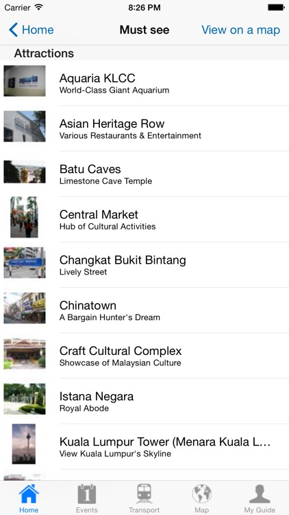 Kuala Lumpur Travel Guide Offline screenshot-3