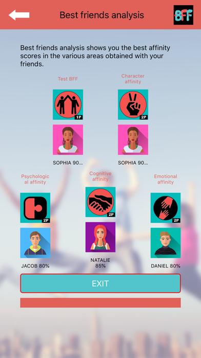 BFF Friendship Test: BFFBot screenshot 1