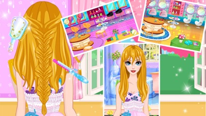 Hair Salon - Girls Makeover Screenshot on iOS