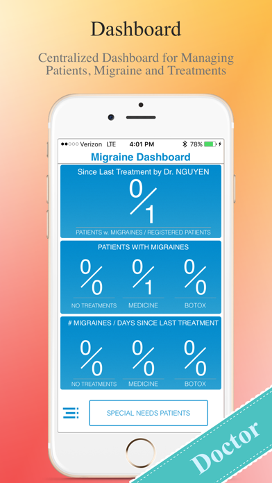 Migraine Tracker screenshot one