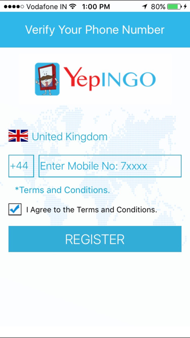 YepINGO UK screenshot two