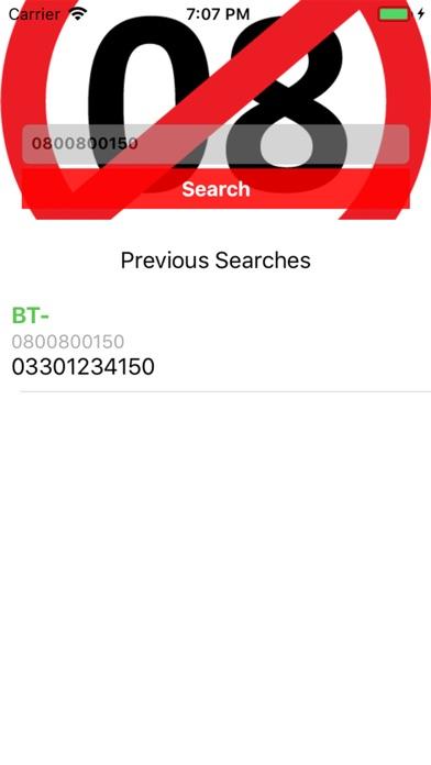 0800NO say no to 0870/45