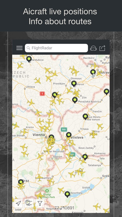 Flight Tracker - Online Status Screenshots