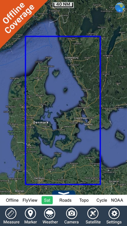 Marine Kattegat HD GPS chart fishing map navigator screenshot-4