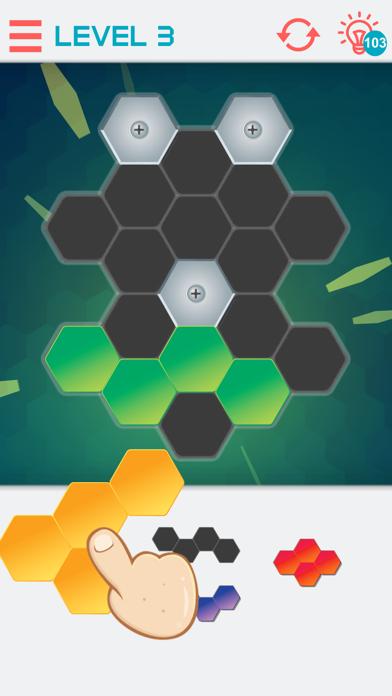 Hexagon Graph Puzzles
