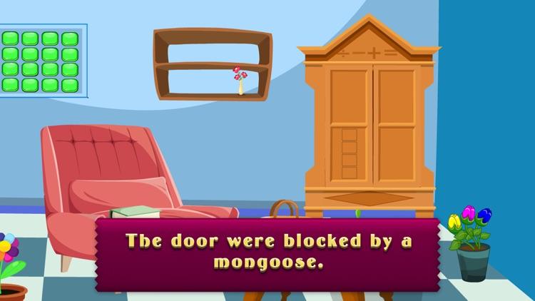 Cartoon Mongoose Escape Game - start a challenge screenshot-3