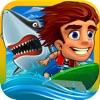 疯狂水上滑板-超好玩的模拟冲浪体育竞技游戏