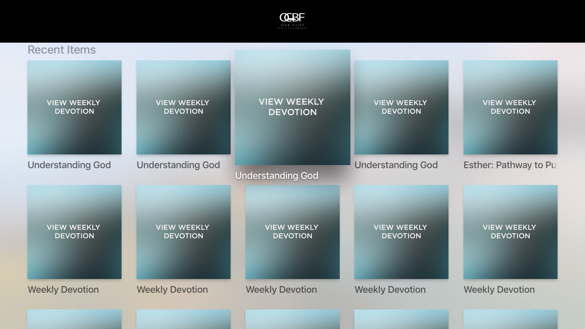 OCBFChurch App screenshot 7