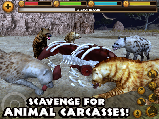 Скачать игру Hyena Simulator