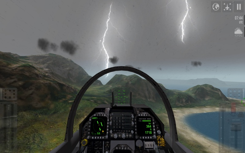 F18 Carrier Landing Lite screenshot 4