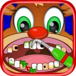 Christmas Pets Vet Dentist Doc