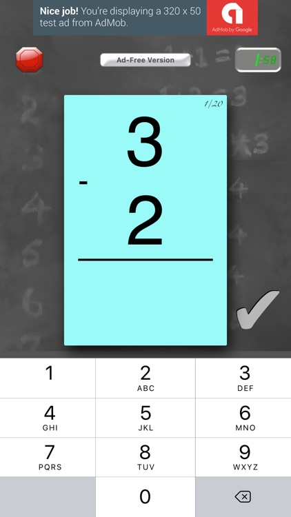 FlashToPass Free Math Flash Cards screenshot-2