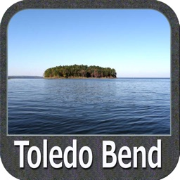 Toledo Bend Texas GPS chart Navigator