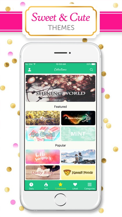Girly Wallpapers & Backgrounds screenshot-4