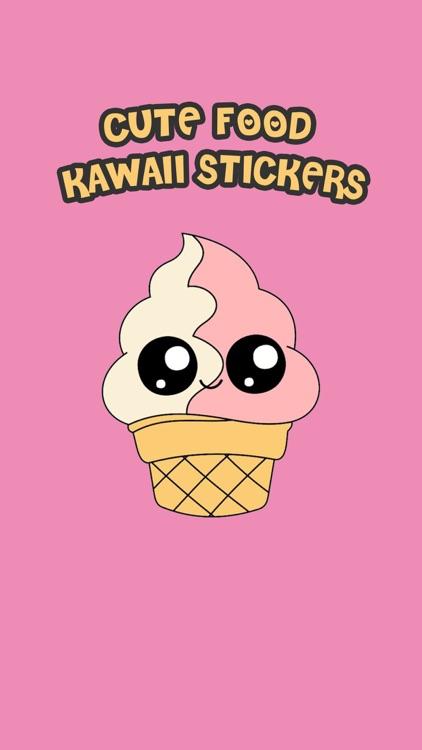 Cute Food Kawaii Stickers