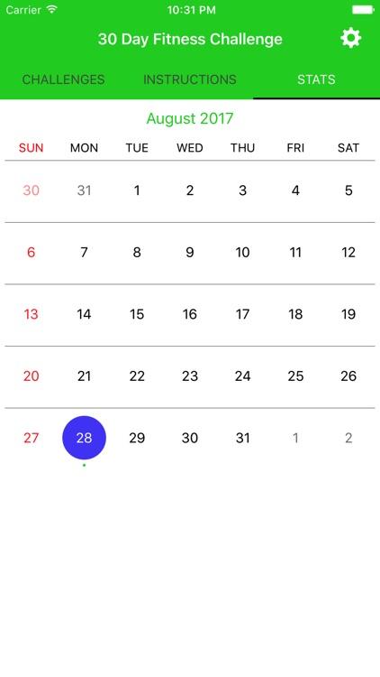 30 Day Fitness Workout Pro screenshot-4