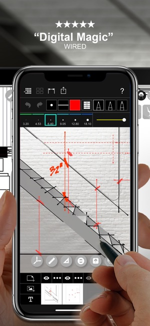Morpholio trace sketch cad on the app store - Application architecture ipad ...