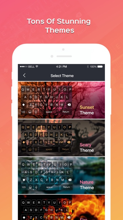 Photo Keyboard - Theme & Fonts screenshot-4