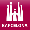 Barcelona travel map guide