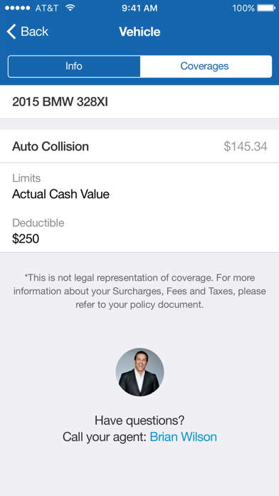 Screenshots of Allstate® Mobile for iPhone