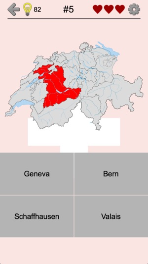 Swiss Cantons Map Capitals on the App Store