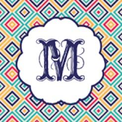 Monogram Wallpapers Pattern 4