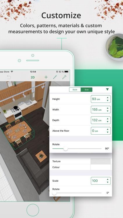 Kitchen Planner & Decorator screenshot-4