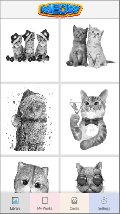 Meow Art Color By Number screenshot-3