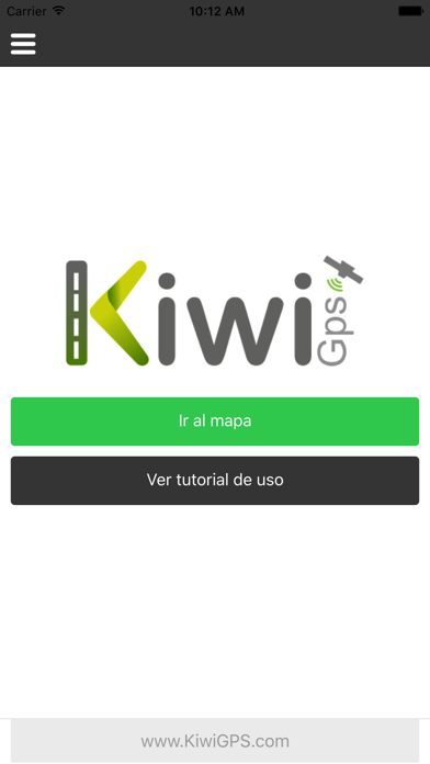 Kiwi GPS screenshot one