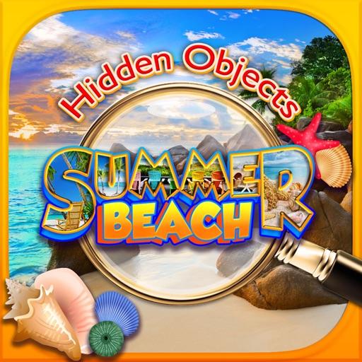 Hidden Objects Summer Beach