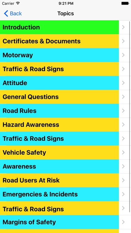 Theory Test For Learner Car Drivers & Road Signs