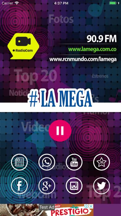 点击获取Radio La Mega 90,9 FM